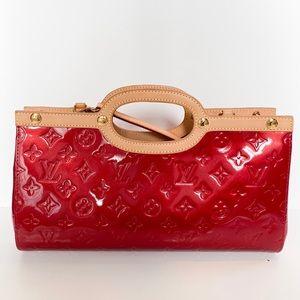 LOUIS VUITTON Monogram Vernis Roxbury Drve Handbag